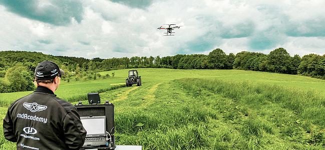Droni per agricoltura  di precisione